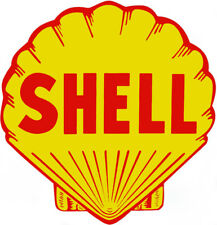 2 Inch Shell Gas Oil Gasoline Waterslide Decal Sticker