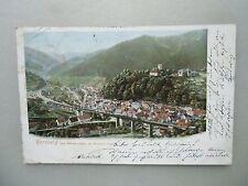 Ansichtskarte Hornberg Schwarzwald um 1900 Schloss Hotel