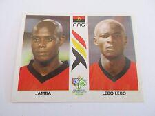 Sticker PANINI Fifa World Cup GERMANY 2006 N°304 Angola Jamba Lebo Lebo