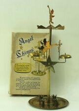 Vintage  Swedish Angel Chimes   Candle Holder Original Box