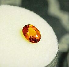 Spessartite Garnet-Spessartine orange-oval facet,.93ct,6.4X4.9X3.4mm,GS-A06