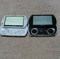 USED Sony PlayStation Portable Go Piano Black, Pearl White Console  PSP GO