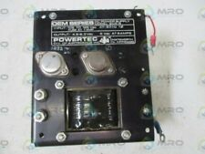 POWERTEC 2C5-6 POWER SUPPLY * USED *
