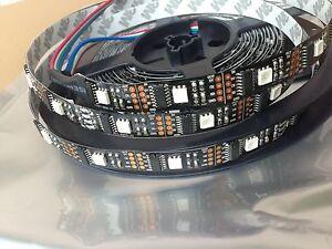 5m WS2801 RGB  LED Strip Adalight Boblight Ambi Ambient TV Raspberry Pi 5050 NEU