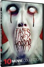Faces of Horror: 10 Movie Collection [New DVD]