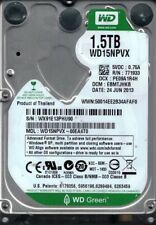 Western Digital WD15NPVX-00EA4T0 1.5TB DCM: EBMTJHKB