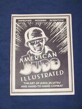 American Judo Illustrated The Art of Judo Jiu-Jitsu and Hand-To-Hand Combat