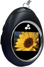 "NEW NIB Latte Digital Photo Frame Keychain with 1.5"" Display"