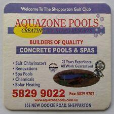 Aquazone Pools & Spas 606 New Dookie Rd Shepparton Golf Club Coaster (B328-11)