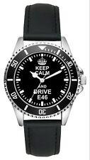 Geschenk für E46 BMW Fans Fahrer Kiesenberg Uhr L-2267