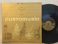Customusic RARE 2LP Programmed Production Music Commercial NM Atmosphere
