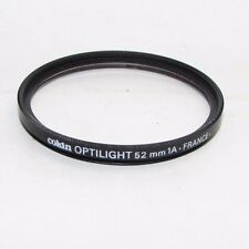 Genuine Cokin Optilight 1A skylight 52mm Lens Filter Made in France (scratched)