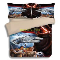 Star Wars Single/Double/Queen/King Size Bed Quilt/Doona/Duvet Cover Pillow Case