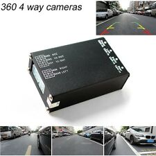 360 View All Round View System Car Camera Control Box 4 Way Camera Switch System