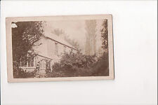 Vintage CDV Unknown Country House England America ?? 1860's Great Image