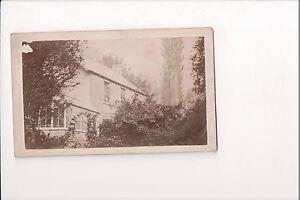 Vintage CDV Inconnu Pays Maison Angleterre Amérique ?? 1860's Grand Image