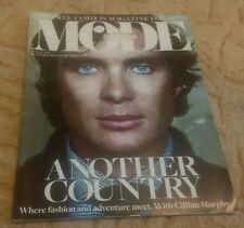 UK Mode Shortlist Fashion magazine for men Cillian Muphy Autumn Winter 2013