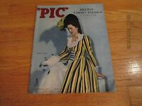 "MARCH 14 1944 ""PIC"" MAGAZINE PATRICIA MUNSEL COVER WWII ILLUSTRATED"