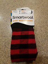 Stripe or Bolt Medium 12-2.5 SmartWool Kids' Wintersport Merino Wool Sock