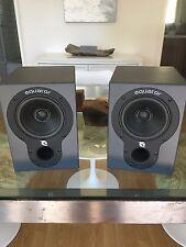 "Equator Audio EQD5 5.25"" Biamplified Coaxial Studio Monitor Pair Excellent Condi"