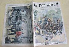 Le petit journal 396 (1898) Accident Bois de Boulogne Santiago guerre hispano US