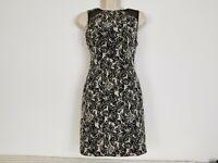 Alice & Olivia Dress  Sheer Shoulder Lined Size 2