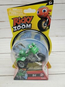 Ricky Zoom DJ Rumbler Motorcycle 3-inch Action Figure Brand New