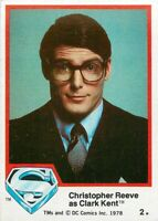 1978 TOPPS DC SUPERMAN THE MOVIE SERIES 1 & 2 - PICK / CHOOSE YOUR CARDS