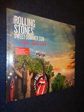 THE ROLLING STONES SWEET SUMMER SUN HYDE PARK LIVE DVD + 3 LP SEALED BOX -N2-FLG