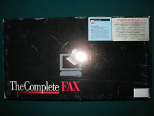 The Complete PC - The Complete Fax for DOS - Manuals and Software Included