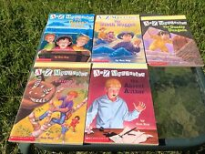 Lot  Of 5 A To Z Mysteries Books