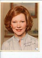 Rosalynn Carter US President 1st First Lady Signed Autograph Photo COA