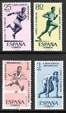 Spain - 1962 Athletics games - Mi. 1342-45 MNH