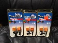 Thunderball Magnetic Nock System 12 Pack Nocks, Lot of 3