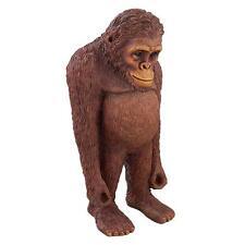 Precocious Primate Standing Orangutan Yard Garden Lawn Wildlife Decor Sculpture