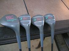 Cobra Baffler Steel Ladies Woods 1-3-5-7  Lady Cobra AutoClave Graphite Shafts