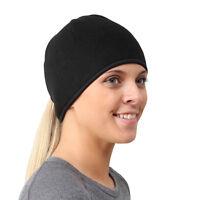 TrailHeads Womens Running Ponytail Hat - black / black