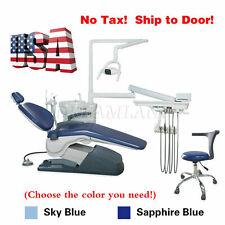 New Dental Chair Unit Computer Control Hard Leather Springe Exam Stool Tj2688 A1
