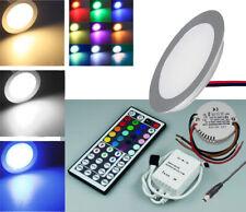 Set LED Downlight Aluminium Matte 12V 0,5W IP67 Hardwearing Recessed Spotlights