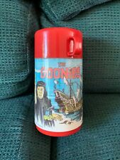 ***RARE*** VINTAGE 'THE GOONIES' PLASTIC LUNCHBOX THERMOS! LLOW MINTAGE!