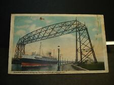 Steamer HURONIC Naval Cover 1919 DULUTH, MN
