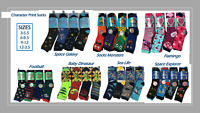 Children /Kids Girls & Boys Character Print Socks [6 PAIRS IN A PACK]