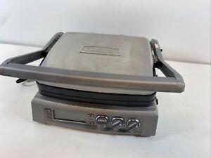 Cuisinart Griddler GR-300 Elite Electric Grill/Griddle - Brushed Stainless Steel