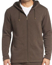 Ugg Australia Mens Size Small Bownes Zip Up Hoodie Stout Heather Brown NWT