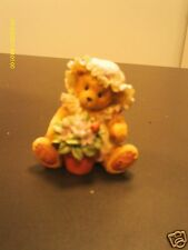 Cherished Teddies ` Violet Blessings bloom when you are near 1995