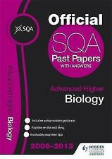 SQA Past Papers Advanced Higher Biology 2013-ExLibrary