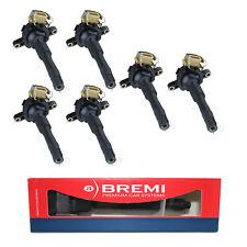 6x BREMI Zündspule  für BMW E31 E36 E38 E39 E46 E52 E53  OE-Nr.  12131703228