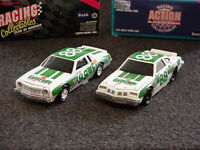 NASCAR Darrell Waltrip Gatorade Olds 442 and Gatorade Chevy Monte Carlo banks