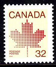 CANADA NO 924, 1982-1985 DEFINITIVES: MAPLE LEAF,  MINT NH