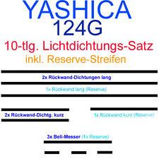 Yashica mat 124 G LichtDICHTUNGen 10tlg Set paßgenau selbstklebend Lichtdichtung